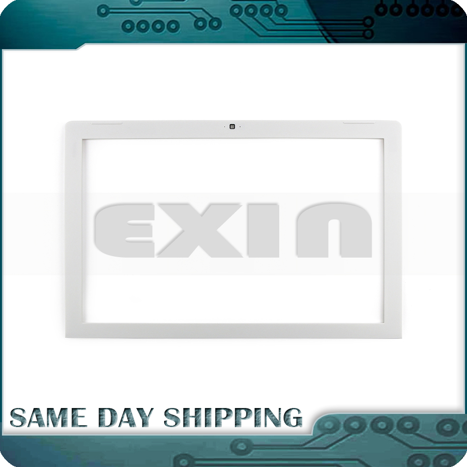 laptop A1181 LCD Front Bezel Frame White Color for MacBook 13 A1181 Front Bezel Screen Display Cover 2006-2009 Year laptop lcd back cover screen for hp for envy 15 15 j 15 j000 15 j100 lcd front bezel cover 720535 001 b shell front bezel touch