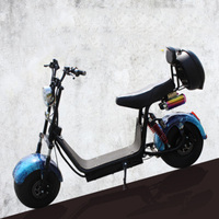 3.Adult Electric Motorcycle Electric Scooter Ce 1000w Motor 50 Km/h Citycoco Electric Bike Electric Vehicle