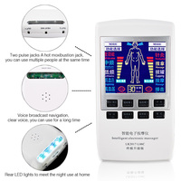 Electronic Physiotherapy Equipment Acupuncture Electrotherapy Body Knee Pain Relief Digital Therapy Health Care Massager