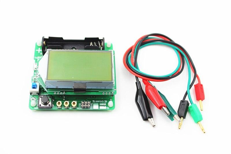 Nuevo 2016 LCD 12864 Mega328 Transistor Tester de triodo capacitancia LCR ESR Meter envío gratuito