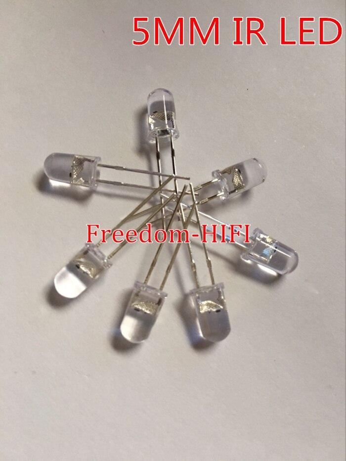 Lotto 10 pezzi per DIODO LED 5mm ROSSO alta luminosità