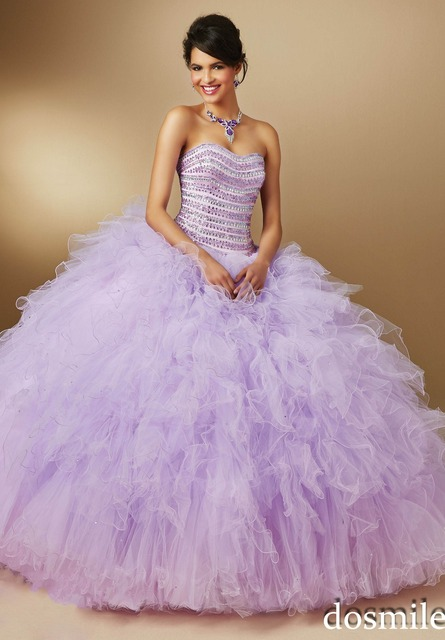 564a487e8c2 2017 lavender purple coral Ball Gown luxury beaded sweetheart floor length Quinceanera  Dresses sweet 16 dresses party gowns