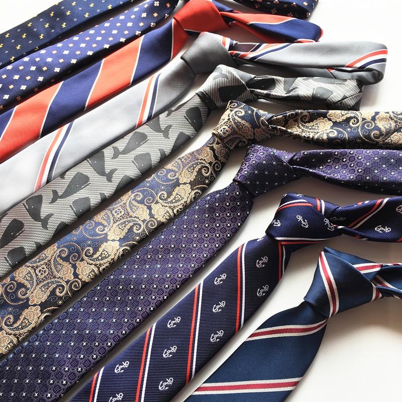 SHENNAIWEI 6 Cm Stripes  Tie Necktie Ties For Men Gift
