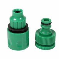 1 Sets Fog Nozzles irrigation system Portable Misting Automatic Watering 20m Garden Hose Spray Head Water Connection Drip