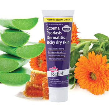 Australia Hope Relief Eczema Cream for Baby Children Adult Problem Dry Itchy Irritated Skin Sooth Itching Dermatitis Psoriasis australia gm skincare seat ve skin repair cream lanolin oil day cream prevents dehydration refresh sooth dry and damaged skin