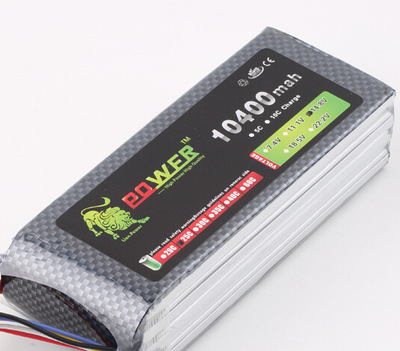 Original Ultra-high Capacity Lion Power 4S Lipo Battery 14.8V 10400MAH 25C  RC Heilecopter Car Boat 4S 10000mah Battery
