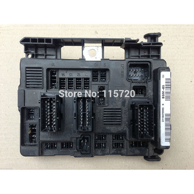 guaranteed high quality fuse box 6500 y3 9650618280 for peugeot 1007 rh aliexpress com