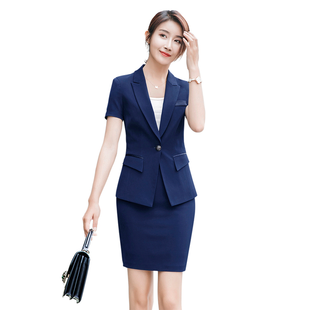 women office dress suits & blazer plus size striped pencil dress ...