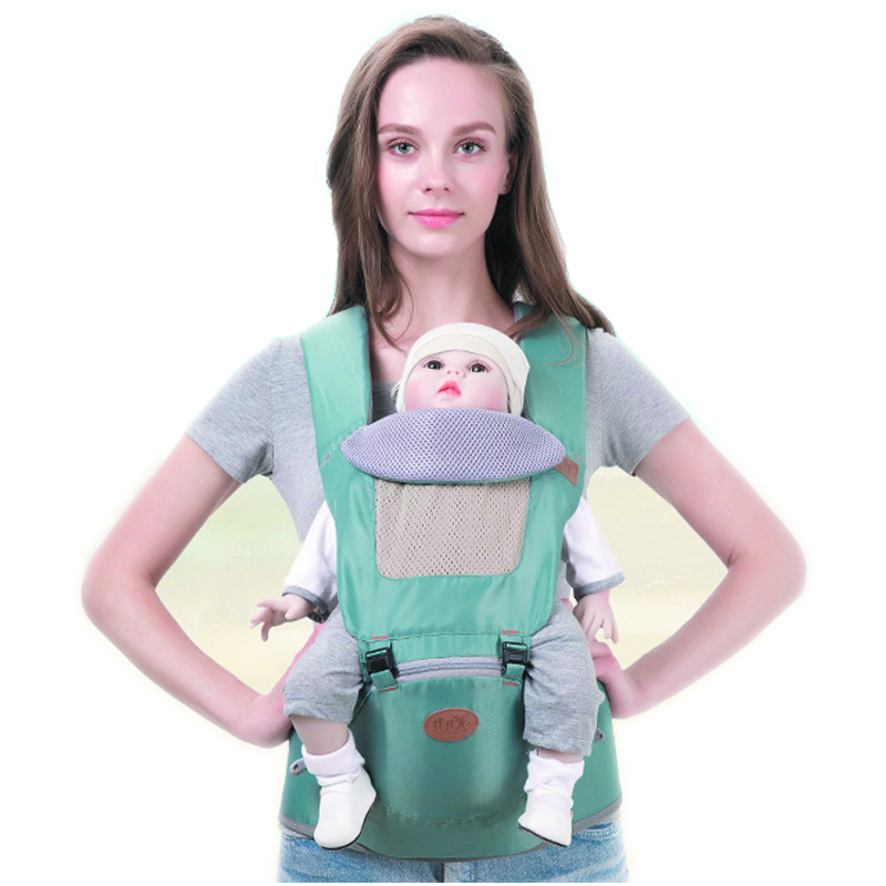 2 In 1 Breathable Baby Carrier Separable Baby Sling Hipseat New Ultra-light Ergonomic Baby Carring ergo baby carrier performance