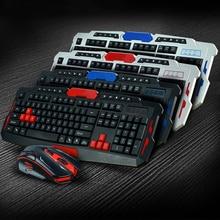 NOYOKERE Wireless Keyboard font b Mouse b font Set USB 2 4Ghz 1600DPI font b Gaming