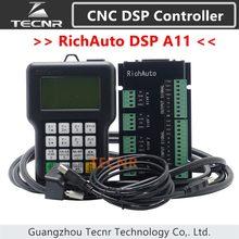 RichAuto – contrôleur de mouvement 3 axes DSP A11 CNC, A11S A11E, télécommande pour gravure et découpe CNC, version anglaise TECNR