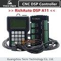 TECNR RichAuto DSP A11 ЧПУ контроллер A11S A11E 3 оси контроллер движения пульт дистанционного управления для ЧПУ гравировки и резки английская версия