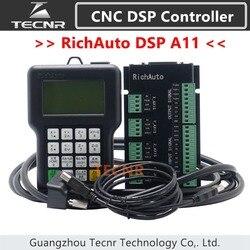 TECNR RichAuto DSP A11 CNC controller A11S A11E 3 achsen Motion Controller fernbedienung Für CNC gravur und schneiden Englisch version