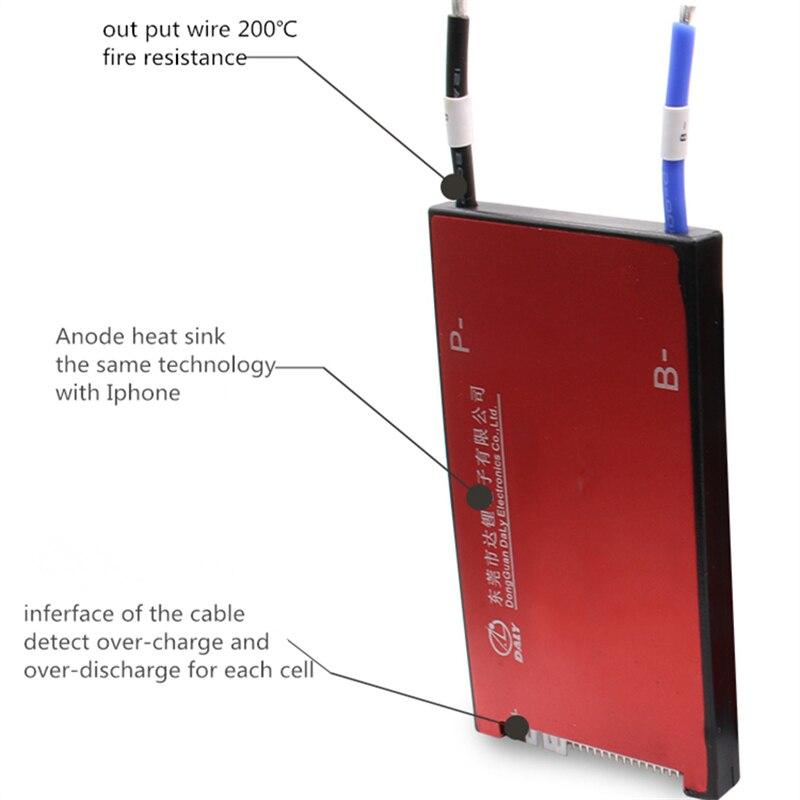 Deligreen 7 s 60A 24 v PCM/PCB/BMS für lithium batterie pack 18650 ...