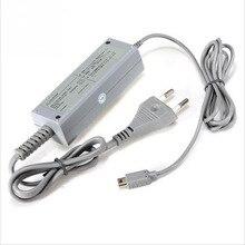 Штепсельная вилка США/ЕС 100-240 в домашний настенный источник питания AC зарядное устройство адаптер для nintendo wii U геймпад джойпад