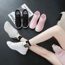Купить с кэшбэком JINBEILEE Spring New Sports Running Shoes Women's Breathable Comfortable Casual Shoes  Sneakers Women