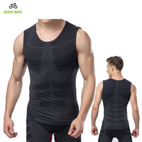 2017 Charm Men S Fitness Tank Vest Outdoor Sports Quick Drying Tight Cycling Base Layers Clothes