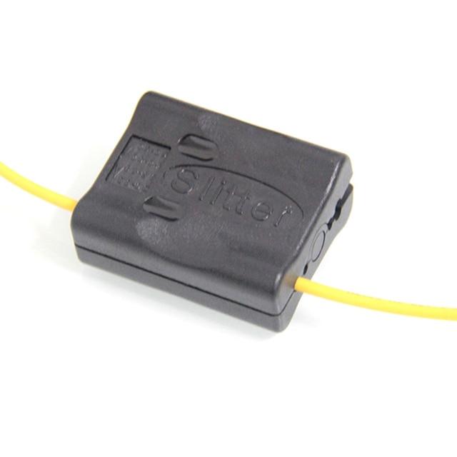 10 ピース/ロット繊維ケーブル X2.1 Mid スパン KMS 1 繊維光学スリッターケーブルクラスタ/カッタージャケット Mid スパンケーブルスリッター