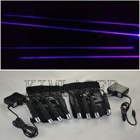 Purple laser gloves/laser beam gloves/a pair of laser glove with purple color