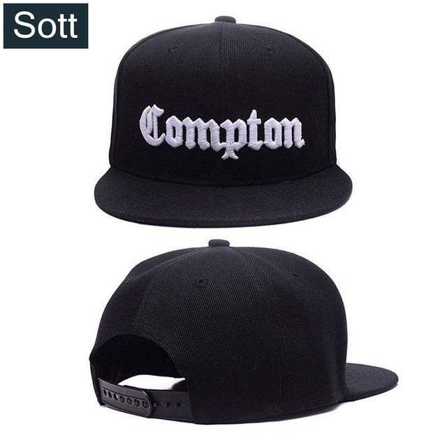 SOTT  12 colores Mens Compton Snapback sombreros Gorras Swag LA Snapback  Compton Hip Hop 7a3b7b1b8aa