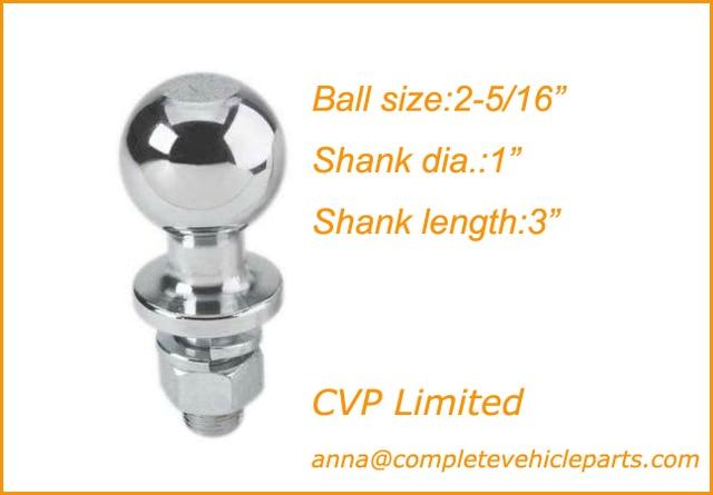 Trailer Hitch Ball Sizes >> Good Trailer Ball Hitch Ball Tow Ball Towing Ball Trailer Parts