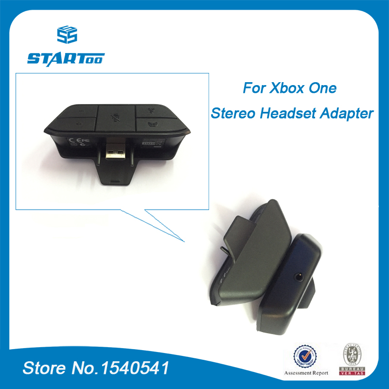 Xbox one headset adapter box