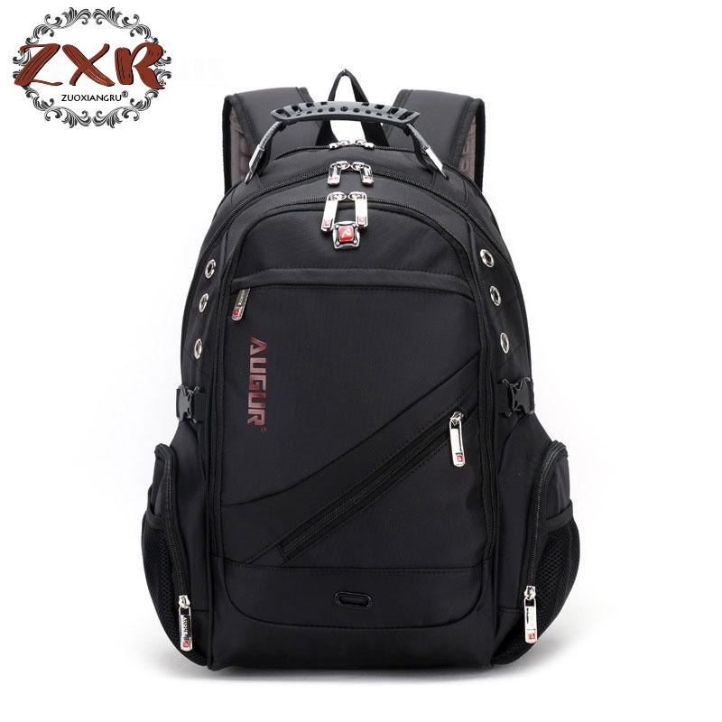 2018 New Oxford Swiss Backpack Laptop Men And Women Brand Travel Rucksack Female Vintage School Bag Bagpack ...