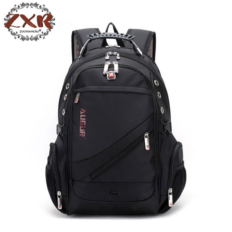 Nouveau Oxford sac à dos suisse ordinateur portable hommes et femmes marque voyage sac à dos femme Vintage sac d'école sac à dos