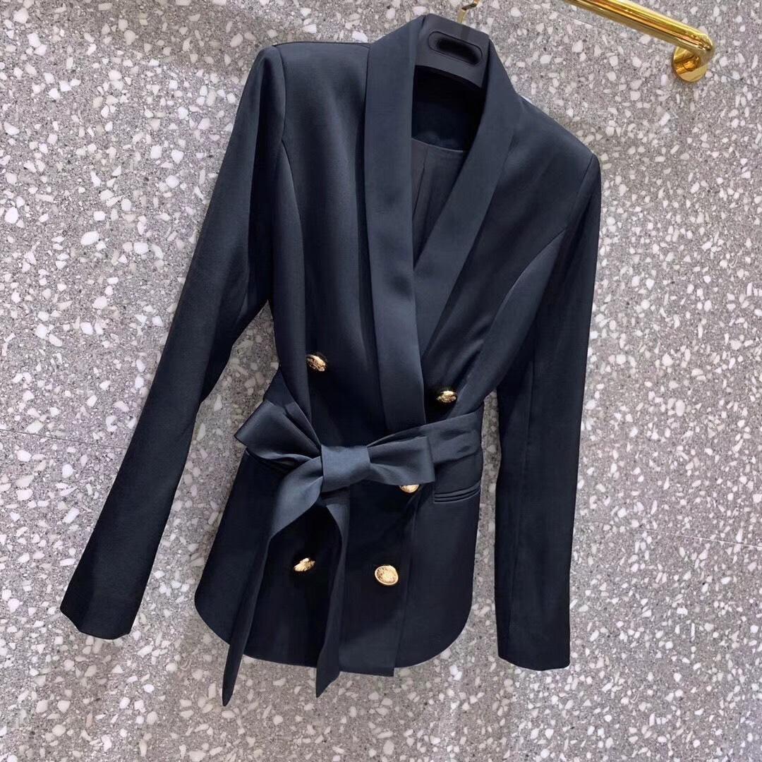 Preiswert Kaufen 2019 Frühling Neue Frauen Ol Blazer Mantel Mit Gürtel 3 Farbe Ddxgz2 4,08 Frauen Kleidung & Zubehör Blazer