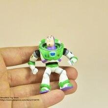 Disney Toy Story 3 Buzz Lightyear Q versión 6 cm PVC figuras de acción mini  muñecas niños juguetes modelo para niños regalo 2766a72bff5