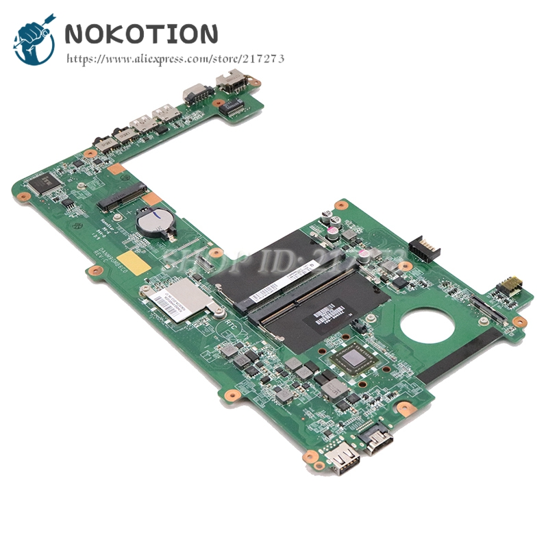 NOKOTION 683533-001 702960-501 For Hp Pavilion DM1 DM1-4000 Laptop Motherboard DANM9GMB6C0 DDR3 With Processor Onboard