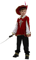 Children's Halloween Ancient Roman Warrior Costume Armor Child Prince Clothing Purim Party dress
