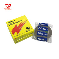 10Roll/lot T0.18mm*W19mm*L10m PTFE FILM NITTO DENKO Electrical Tapes 903UL