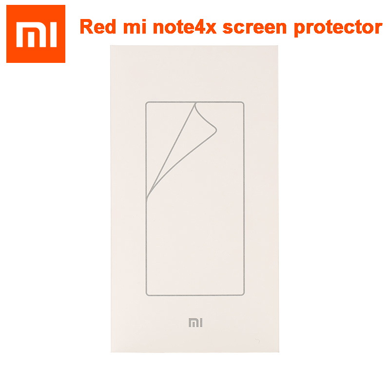 D'origine Smart xiaomi Pour Xiaomi Redmi note4X hongmi Note 4x Rouge riz Note4X Écran Protecteur De Protection Film