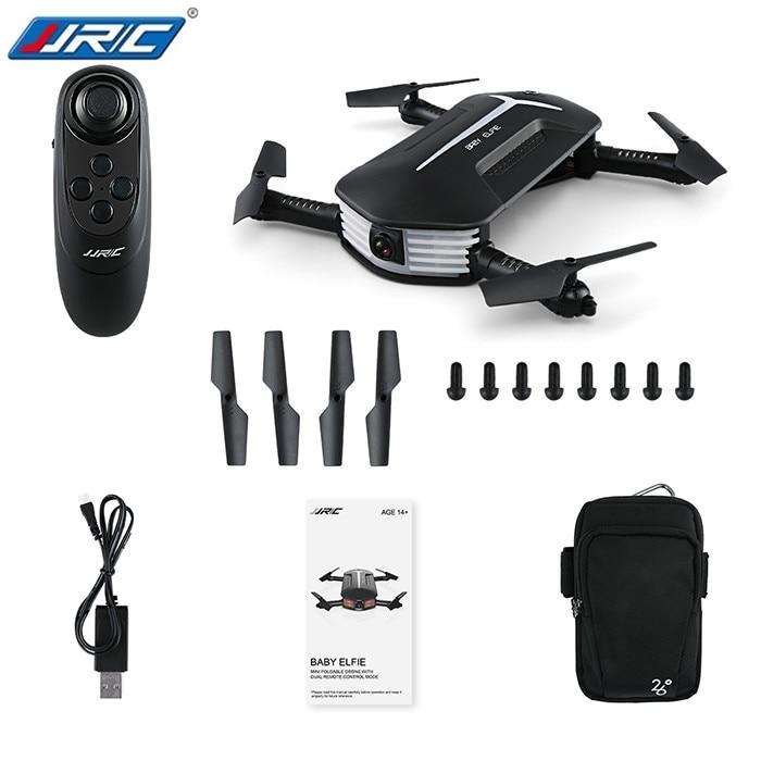 Trasporto di goccia JJR/C JJRC H37 MINI BAMBINO ELFIE Pieghevole RC Drone RTF WiFi FPV 720 P HD/G-sensor Controller/Waypoint Helicoputer