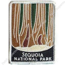 "3 ""Sequoia Patches Reizen Souvenir Badge Outdoor Rugzak Diy Nationale Park New York Mc Biker Vest Motorfiets Borst Transfer(China)"
