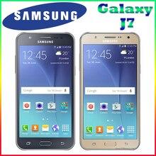 100% Оригинал Samsung Galaxy J7 Открыл Мобильный Телефон 5.5 дюймов Octa-core 13.0MP 1.5 ГБ RAM 16 ГБ ROM 4 Г LTE Сотовый телефон