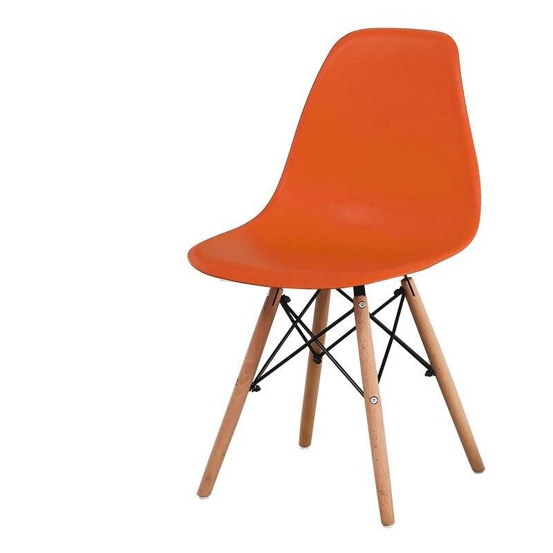 Минималистичный современный стул для отдыха, черный стул для гостиной, домашняя Обеденная Мебель для ресторана, скандинавский диван, спинка, оттоманская - Цвет: I