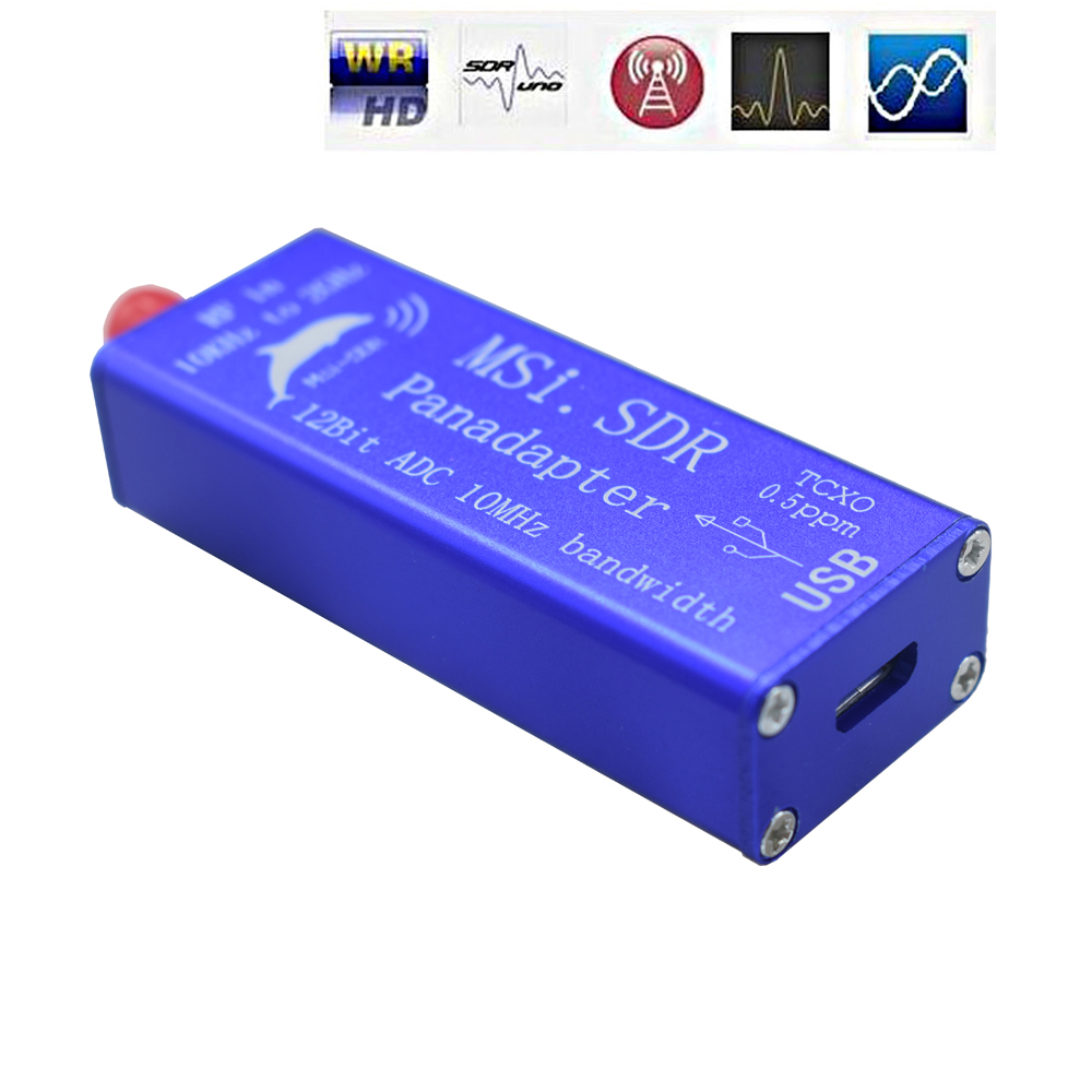 Lusya MSI. SDR Panadapter SDR récepteur 10kHz à 2GHz TCXO intégré pour SDRPlay RSP1 Raspberry Pi 2/3 12 bits ADC H4-003 - 4