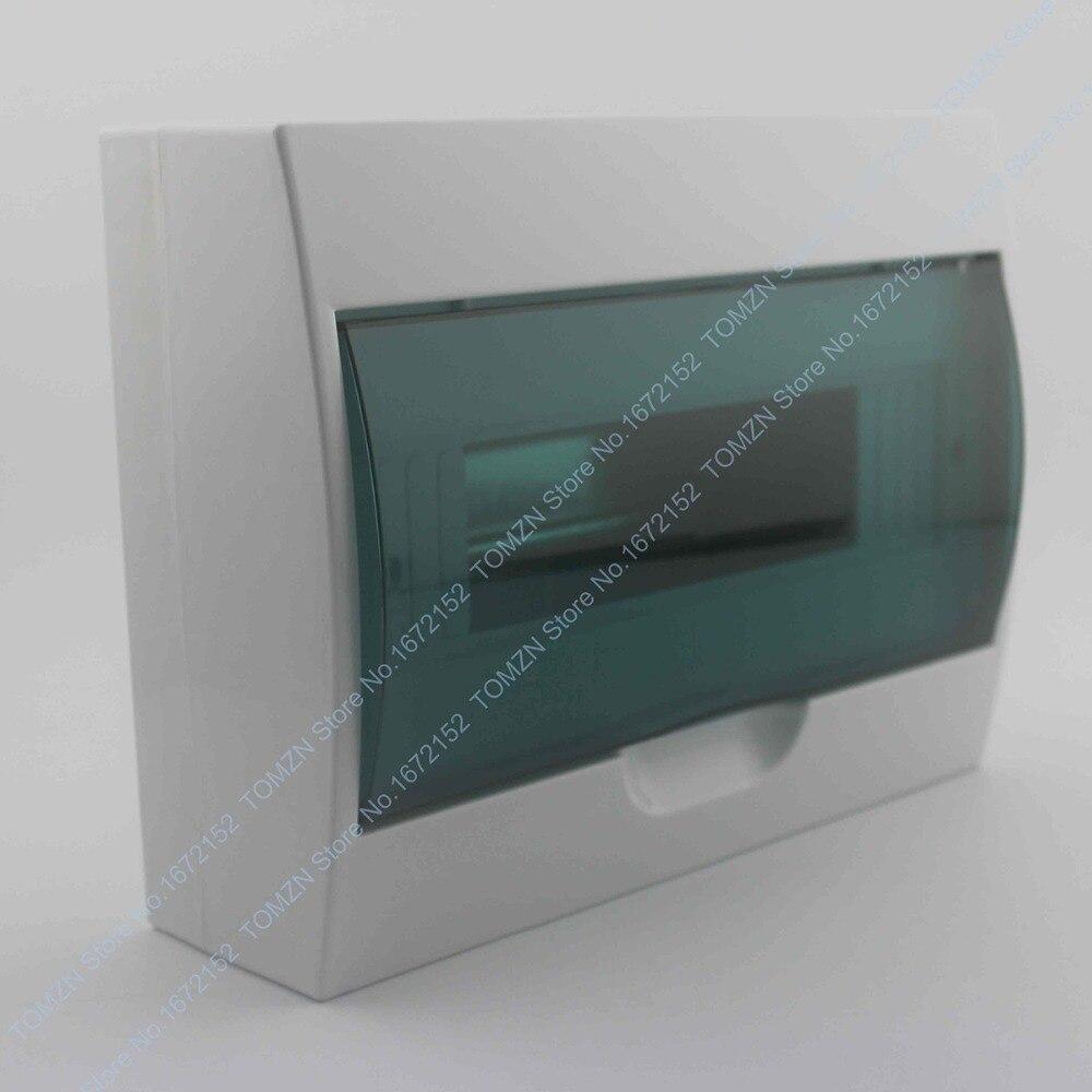 цена на 9 - 12 ways Plastic distribution box for circuit breaker indoor on the wall