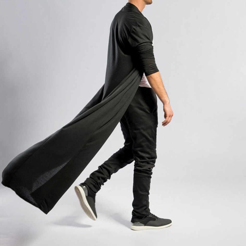 Jaycosin Herfst Winter Mannen Gotico Punk Rock Trenchcoat Lange Jas Mantel Mannen Vintag Vesten Overjas Bovenkleding Plus Size 717