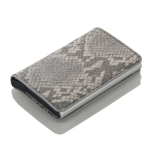 New Business Credit Card Holder Wallet Unisex Metal Blocking RFID Wallet ID Card Case Aluminium Travel Purse card holder
