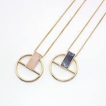 Женское Винтажное колье с подвеской jshine длинное ожерелье