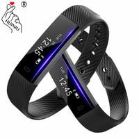 ID115 Sport Smart Bracelet Sleep Activity Fitness Tracker Passometer Wrist Band Alarm Clock Wristband For Iphone Android Phone