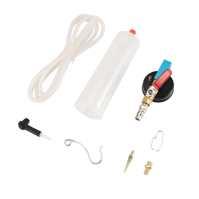 TiOODRE Auto Car Brake Fluid Oil Change Tool Hydraulic Clutch Oil Pump Oil Bleeder Empty Exchange Drained Kit For motorcycle