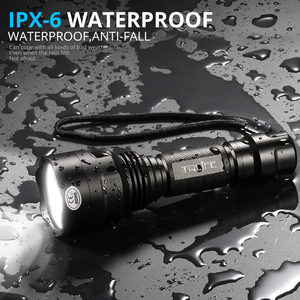 Image 5 - Super Bright LED Flashlight 1/5 Modes Tactical Torch T6 L2 Lanternas for Night Riding Camping Hiking Hunting Use 18650