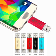 Kismo USB2.0 Pen Drive 8 Gb 16 GB 32 GB 64 GB Android Memori Stick OTG Micro USB Flash Drive untuk Samsung S6 S7 Edge A3 A5 A7 2016(China)