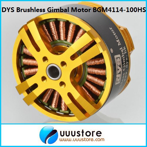 FPV High Performance Brushless Gimbal Motor BGM4114-100HS for FPV Aerial Photography hj5208 75t brushless gimbal motor for 5d2 camera fpv aerial photography black