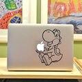 """Резка Динозавров Мультфильм для Ноутбука Наклейка для Apple MacBook 11 """"13"""" 15 """"Macbook Air/Pro/Retina Искусства Notebook Наклейки Кожи"""
