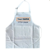 Kinder der Name Personalisierte Schürze für Mädchen Kinder Backen Gastgeschenke Kochen Party Favors Backen Party Schürze Kid Schürze|Schürzen|Heim und Garten -